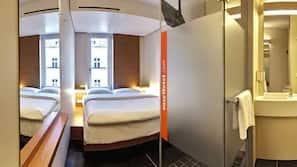 Biancheria da letto ipoallergenica, tende oscuranti, Wi-Fi gratuito