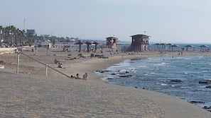 Vlak bij het strand, wit zand