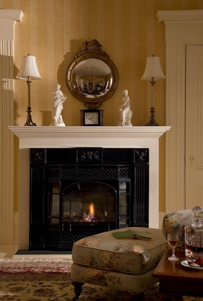 Fireplace, Liberty Hill Inn