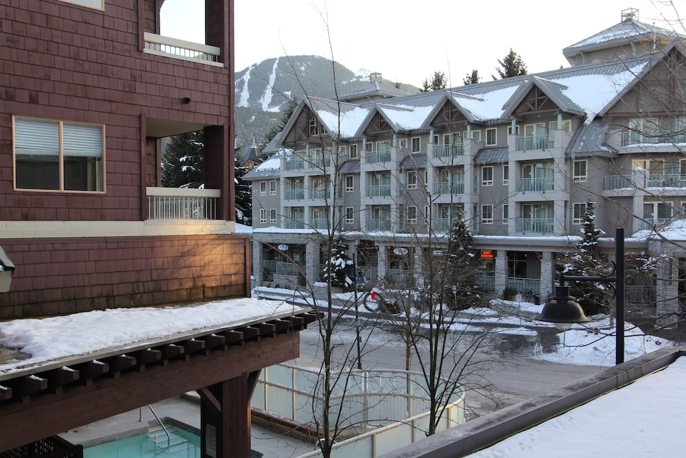 Balcony View, Marketplace Lodge by Whistler Retreats