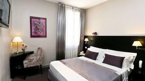 Premium bedding, in-room safe, desk, soundproofing