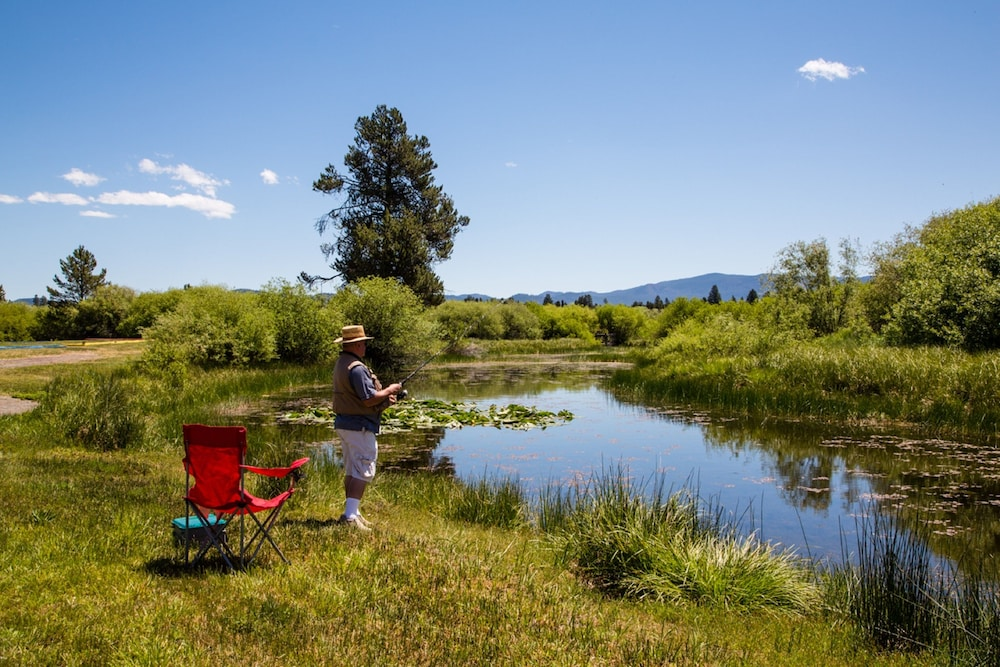 Fishing, Bend-Sunriver RV Campground