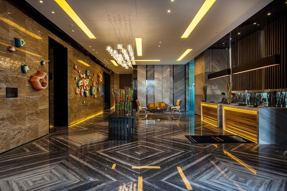 Reception, Wyndham Grand Shenzhen