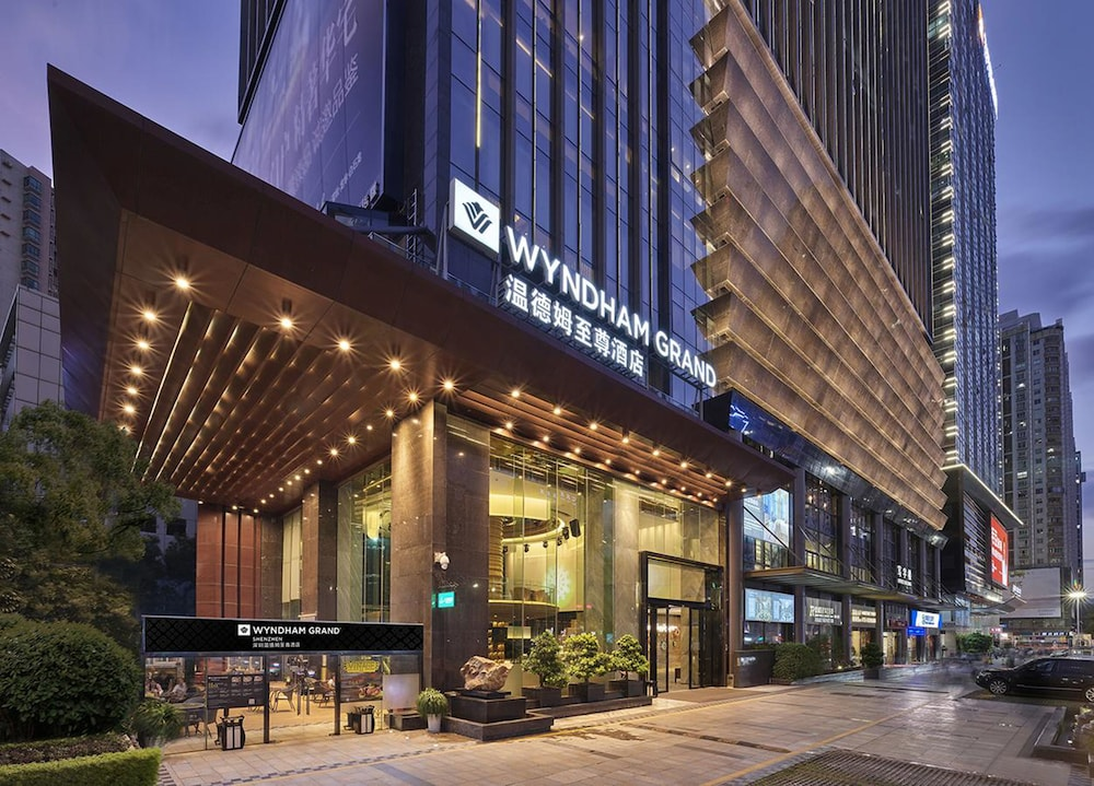 Front of Property, Wyndham Grand Shenzhen