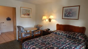 Rollaway beds, free WiFi, bed sheets, wheelchair access