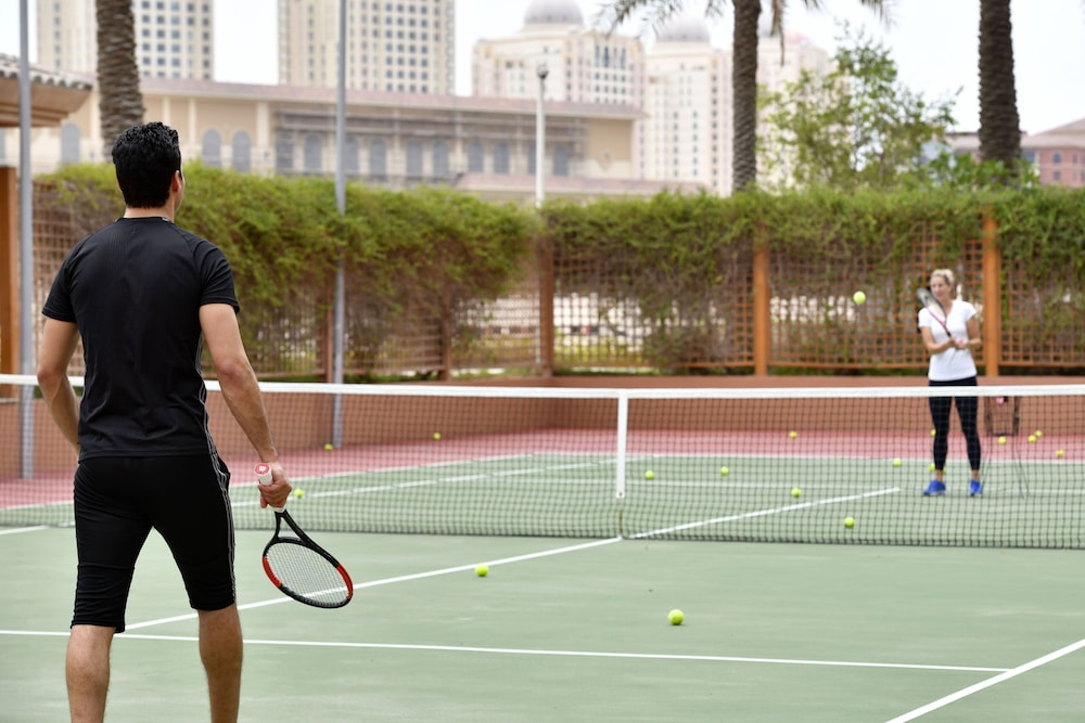 Tennis Court, Marsa Malaz Kempinski, The Pearl - Doha