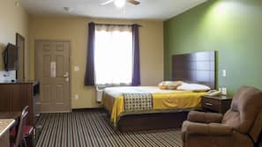 Premium bedding, Tempur-Pedic beds, individually furnished, desk