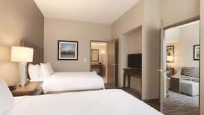1 slaapkamer, hypoallergeen beddengoed, een kluis op de kamer