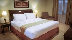 Minibar, tempat tidur lipat/ekstra (biaya tambahan), dan Wi-Fi gratis