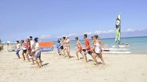 Tæt på stranden, dykning, snorkling