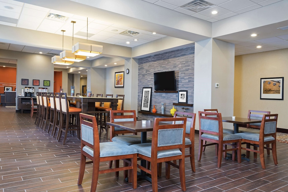 Reception, Hampton Inn Kalamazoo