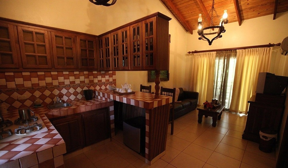 Private Kitchenette, Hotel Gran Jimenoa