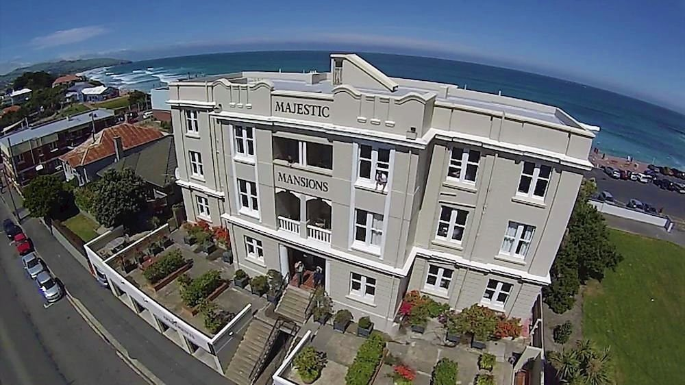 Aerial View, Majestic Mansions - Apartments at St Clair