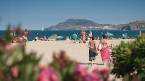 Vlak bij het strand, vervoer van/naar het strand