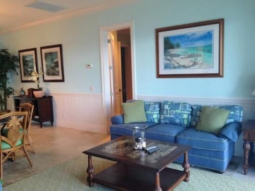 Living Area, Mermaid Reef Villa 3 by Living Easy Abaco