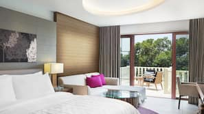 1 bedroom, premium bedding, pillow top beds, minibar