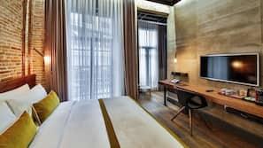 Italienische Bettbezüge von Frette, hochwertige Bettwaren, Minibar
