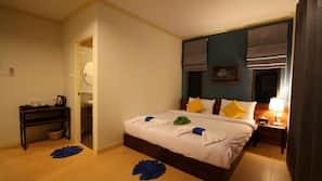 Zimmersafe, kostenpflichtige Zustellbetten, kostenloses WLAN