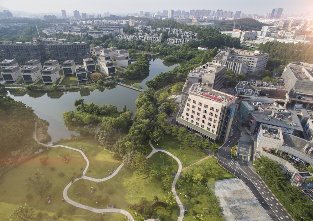 Aerial View, Aloft Dongguan Songshan Lake