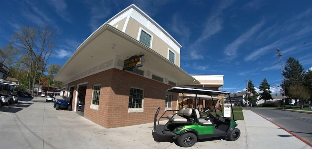 Golf Cart, Put in Bay Victory Station Hotel
