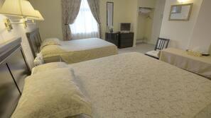 1 bedroom, premium bedding, individually furnished, desk