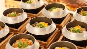 Lunch and dinner served, Japanese cuisine
