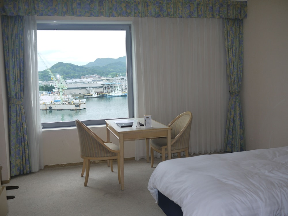 View from Room, Green Hill Hotel Onomichi