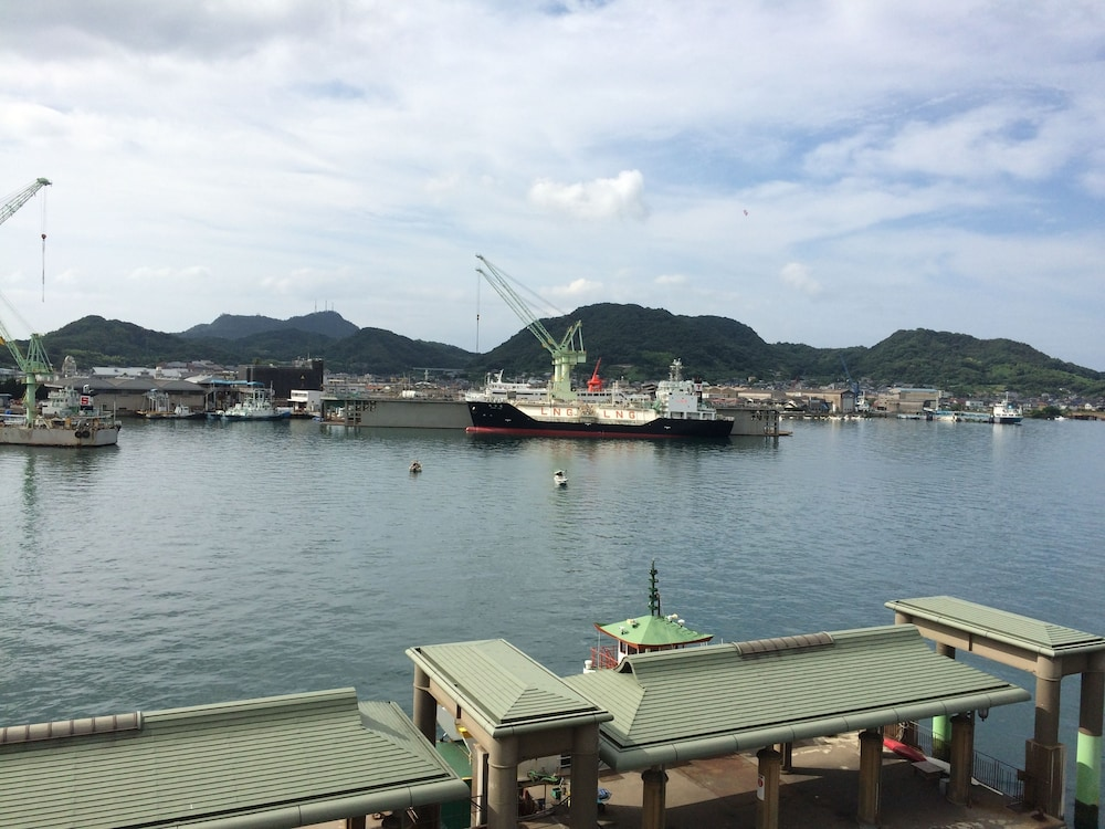 View from Property, Green Hill Hotel Onomichi