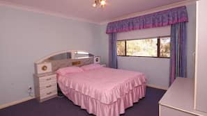 Iron/ironing board, cots/infant beds, free WiFi