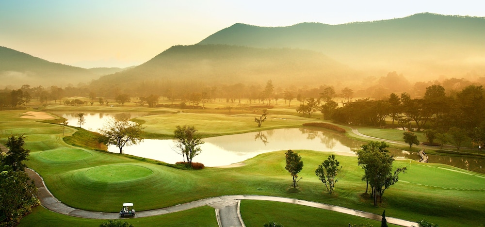 Golf view, Alpine Golf Resort Chiang Mai