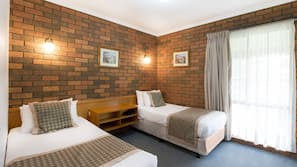 Soundproofing, iron/ironing board, free cots/infant beds, free WiFi