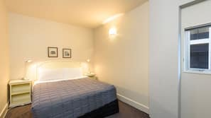 Blackout curtains, soundproofing, iron/ironing board, cots/infant beds
