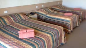 Desk, iron/ironing board, free cots/infant beds, free rollaway beds