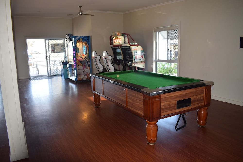 Game Room, NRMA Stockton Beach Holiday Park