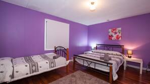 5 chambres, literie de qualité supérieure, ameublement personnalisé