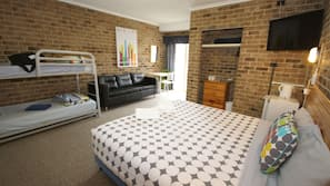 Individually furnished, iron/ironing board, rollaway beds, free WiFi