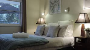 Pillow-top beds, iron/ironing board, free WiFi