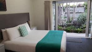 Down duvets, memory-foam beds, soundproofing, free WiFi