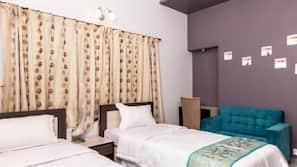 1 개의 침실, 고급 침구, 각각 다른 스타일의 객실, 각각 다르게 가구가 비치된 객실