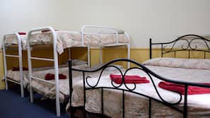 Premium bedding, iron/ironing board, free cots/infant beds