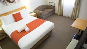 Minibar, blackout curtains, free WiFi, bed sheets