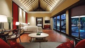 1 개의 침실, 필로우탑 침대, 미니바, 객실 내 금고