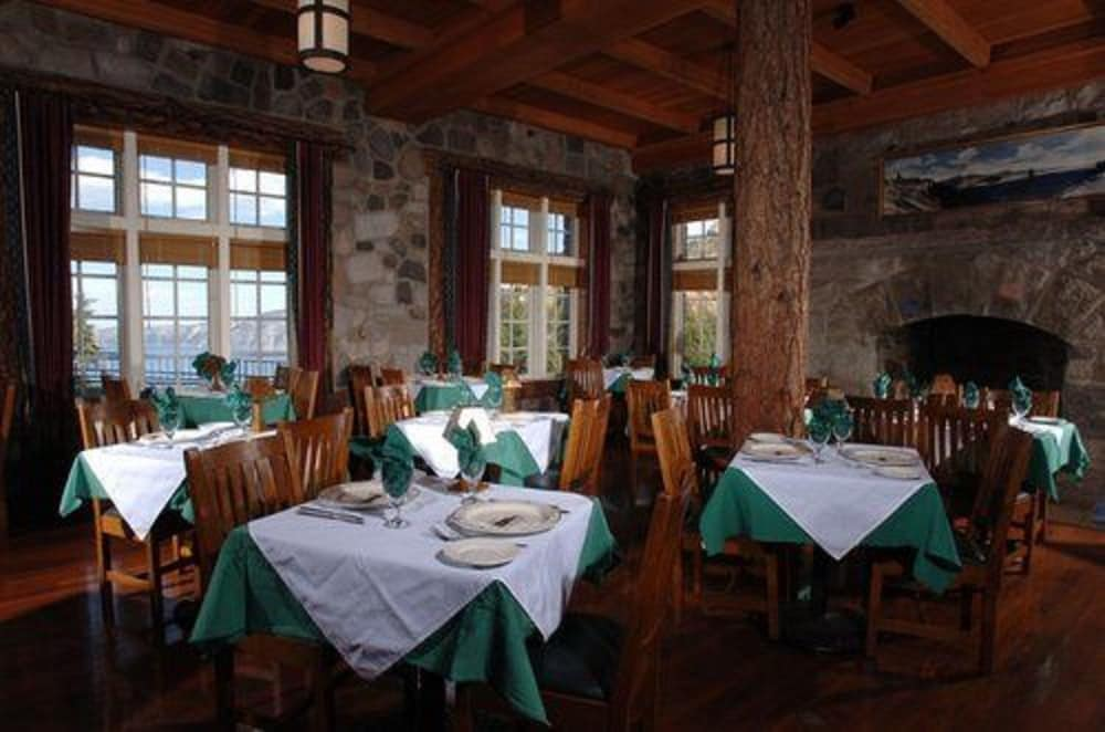 Restaurant, Crater Lake Lodge - Inside the Park