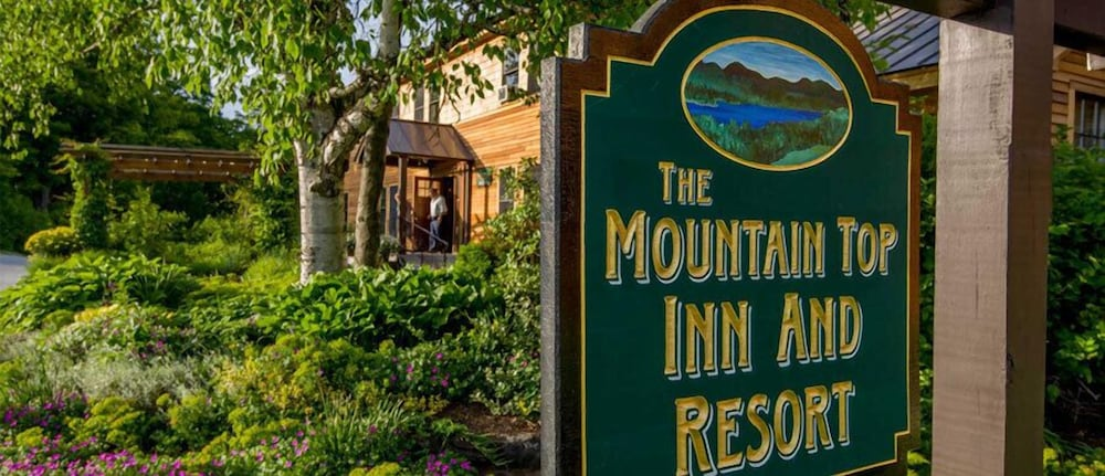 Exterior detail, The Mountain Top Inn & Resort