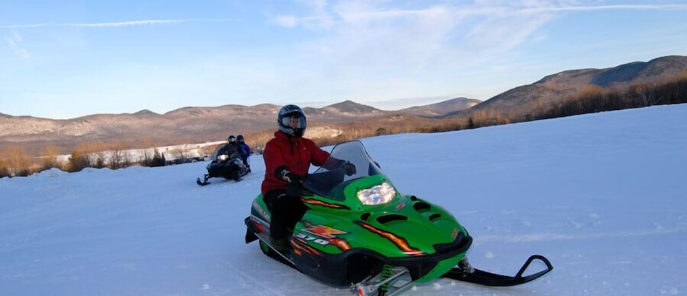 Snowmobiling, The Mountain Top Inn & Resort