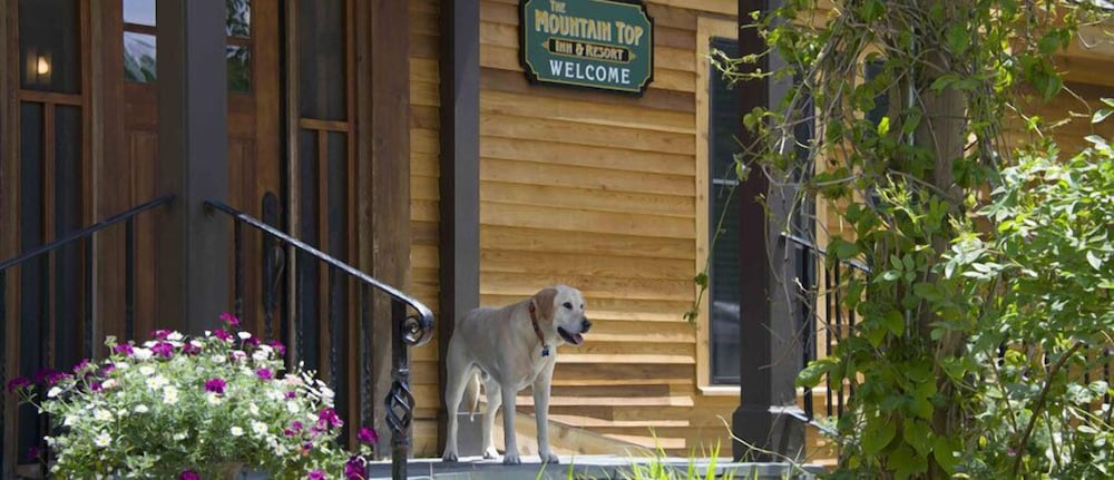 Property Entrance, The Mountain Top Inn & Resort