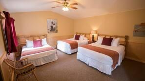 Premium bedding, down comforters, Tempur-Pedic beds, free WiFi
