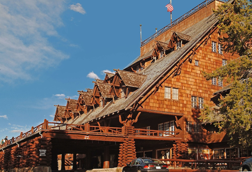 Front of Property, Old Faithful Inn - Inside the Park