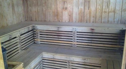 Sauna, Americano Beach Resort