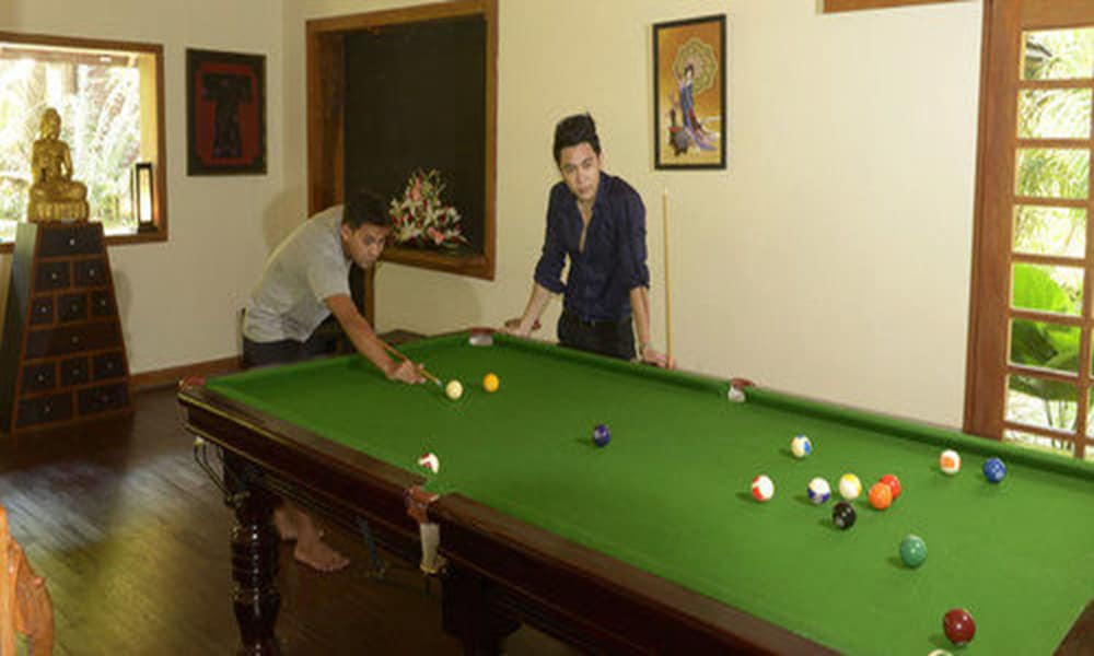 Game Room, Aureum Palace Hotel & Resort Ngapali